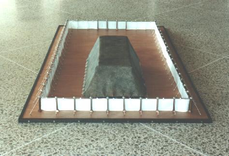 vue postérieure du tabernacle avec la cour extérieure  (c) digital union
